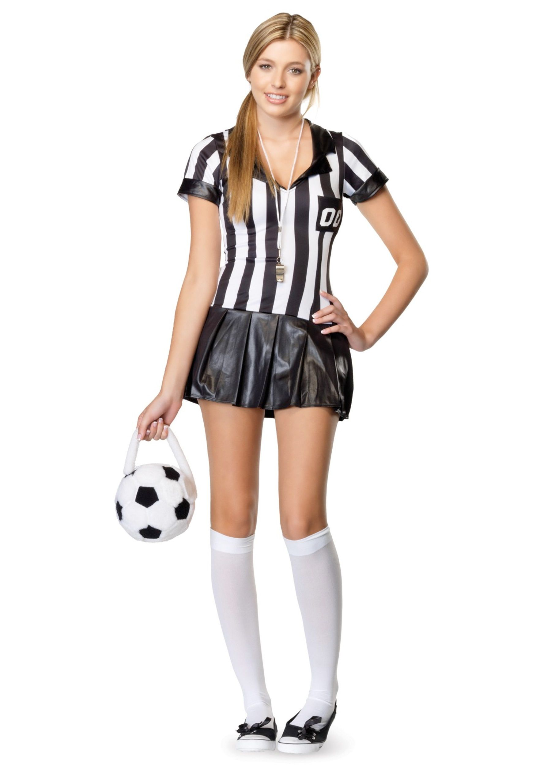cuteteencostumes home costume ideas sports costumes referee costumes girls teen referee - Girls Teen Halloween Costumes