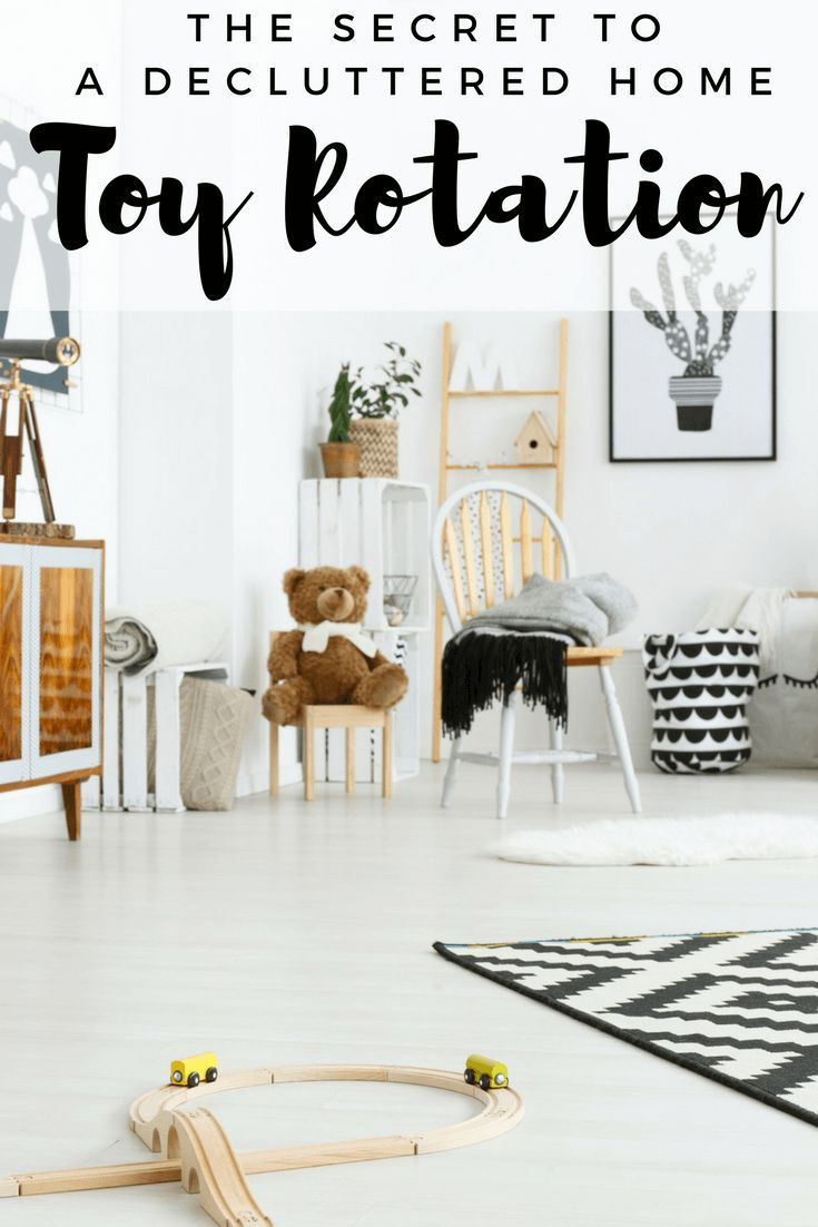 Toy Rotation Is The Secret To A Decluttered Home With Kids ...