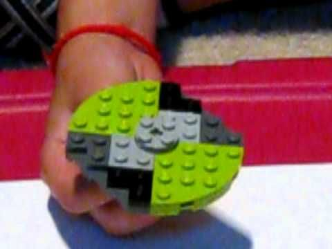build a Lego BeyBlade NEON COMET and AUTOMATIC Lego launcher ...