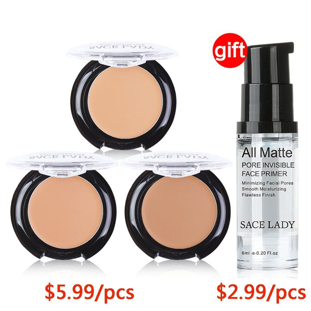Buy 3 Get 1 Gift Sace Lady Full Coverage Concealer Cream