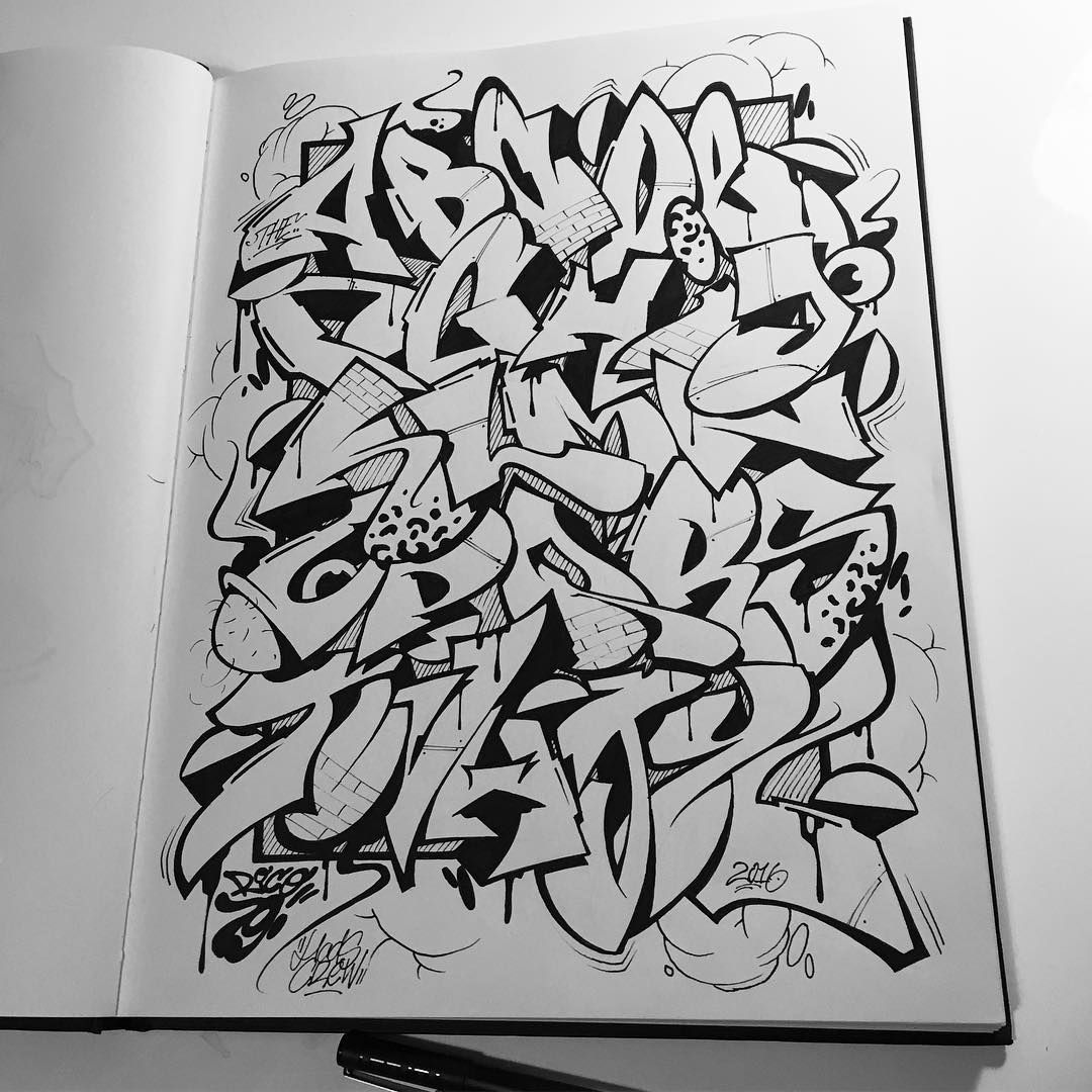 Pin by drew stanley on graffiti in 2019 graffiti graffiti alphabet sketches - Graffiti abc letters ...