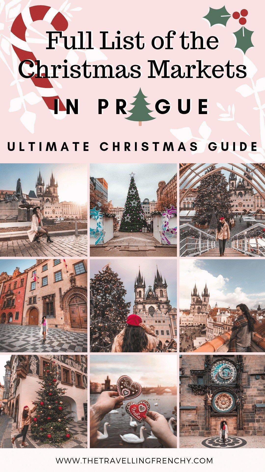 Full List Of Prague S Christmas Markets In 2019 2020 Prague Christmas Prague Christmas Market Best Christmas Markets