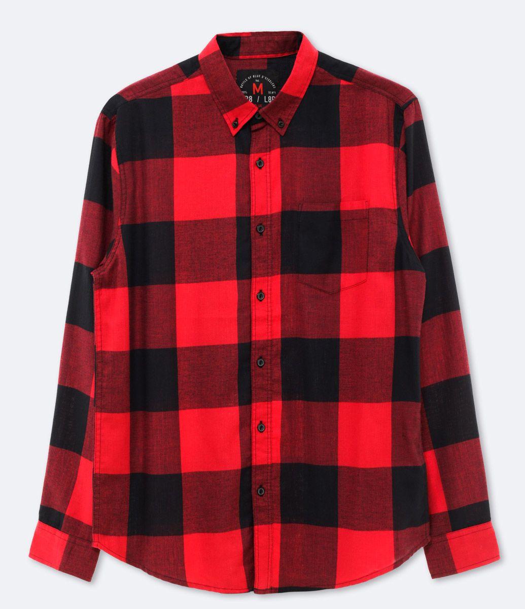 c195c47c5d013 Camisa masculina Manga longa Xadrez Marca: Blue Steel Tecido: sarja  Composição: 100% algodão Modelo veste tamanho: M COLEÇÃO VERÃO 2017 Veja  outras opções ...