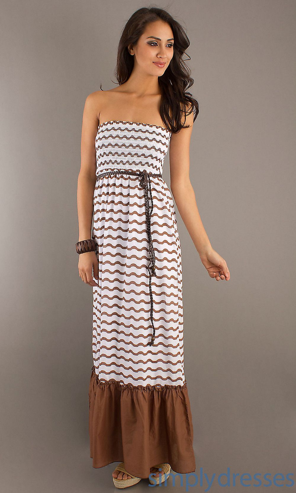 Dress long strapless casual dress simply dresses i want