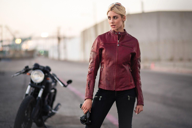Roland Sands Maven Women S Leather Jacket Oxblood Leather Jackets Women Leather Jacket Jackets [ 1000 x 1500 Pixel ]