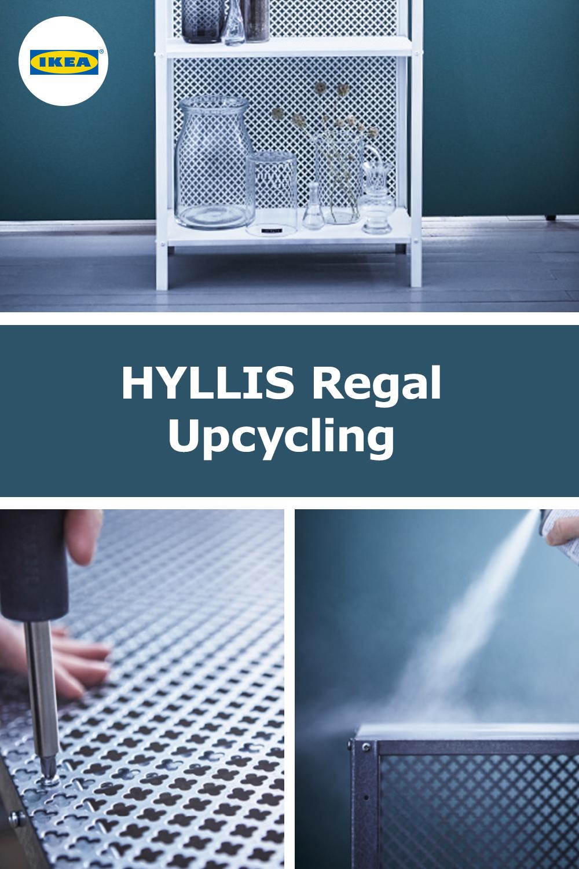 Photo of IKEA Germany   Ecco come puoi riciclare lo scaffale HYLLIS: 1. Griglia metallica fatta di …