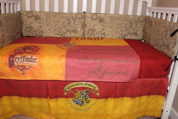 Harry Potter Crib Baby Bedding Set Gryffindor Harry Potter