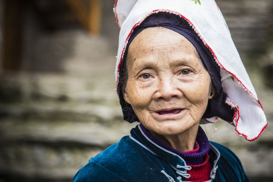 A Miao Elderly Woman by William Yu on 500px