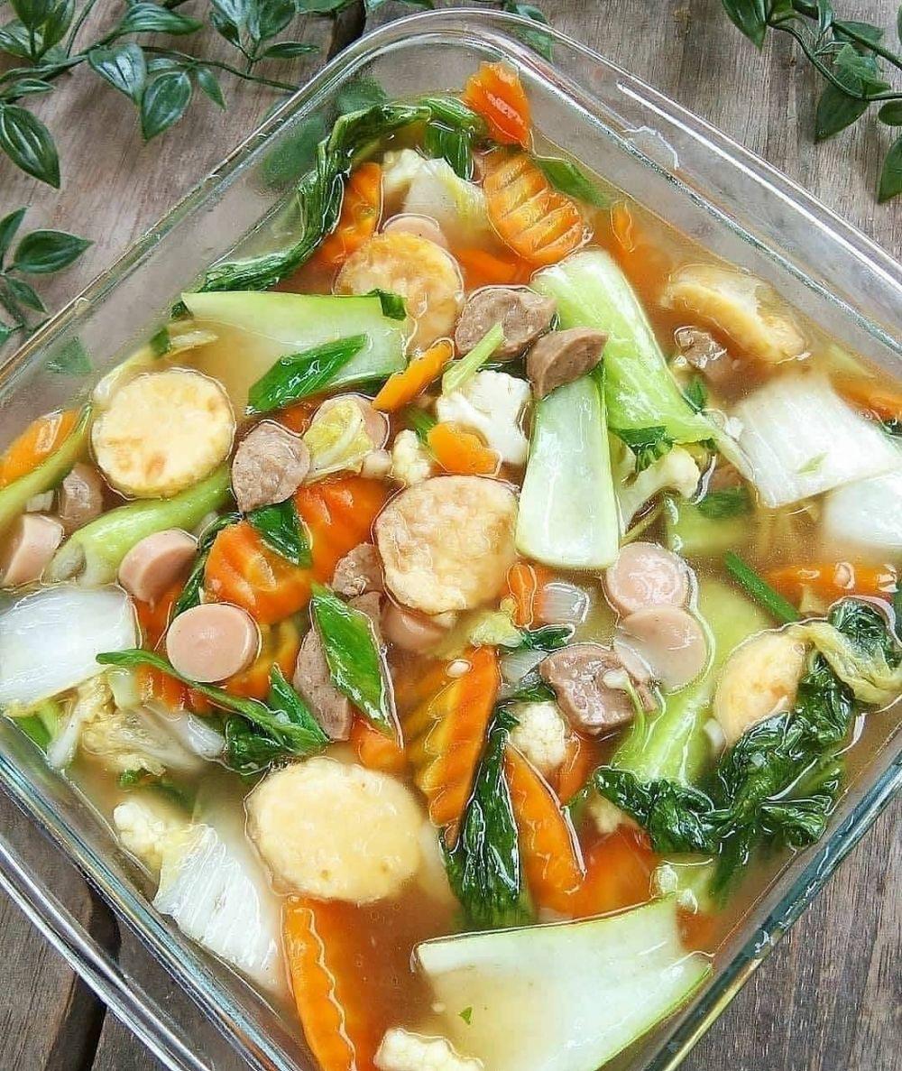 Resep Sayur Ala Anak Kos C Instagram Resep Sayuran Resep Masakan
