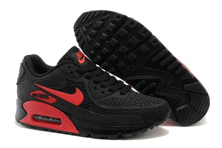 Nike Max 90 Kpu New Black Red 36 45 Nike Shoes Air Max Cheap Nike Air Max Nike Air Max