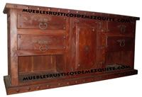 Rustic furniture Mesquite - Jalisco Mexico