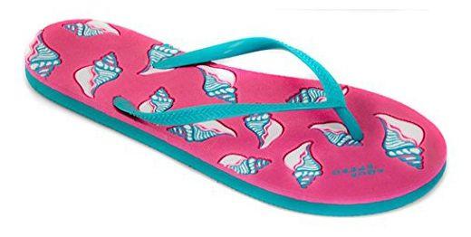 Aqua Speed NAPOLI Zehentrenner (36-41 Damen Flip Erwachsene), Farbe:Pink-Türkis;Schuhgröße:36