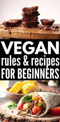 Cheap Easy Vegan Meals: 50+ Vegan Meals for Beginners images
