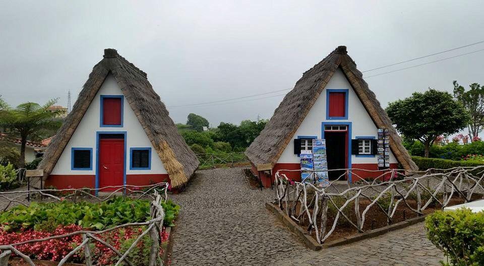 Madeira, Casas de Santana