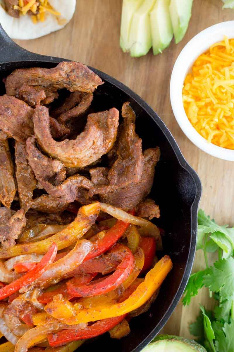Easy Steak Fajitas Recipe | Devour Dinner | Instant Pot Steak Fajitas #steakfajitarecipe Easy Steak Fajitas Recipe | Devour Dinner | Instant Pot Steak Fajitas #beeffajitarecipe