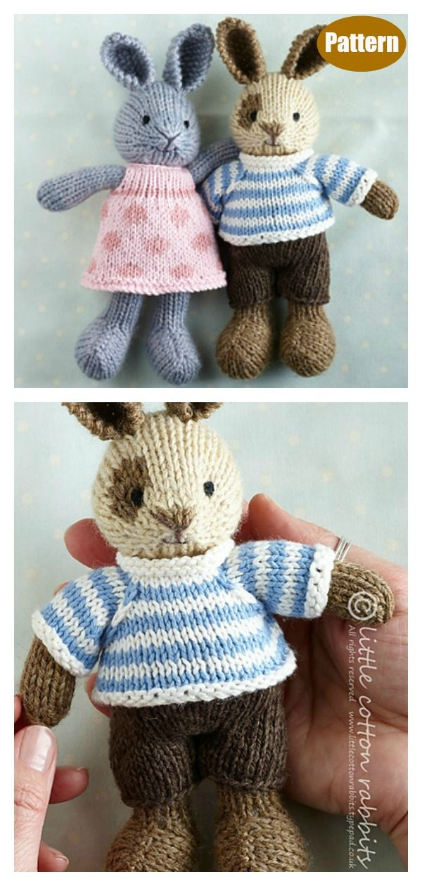 Adorable Bunny Knitting Pattern