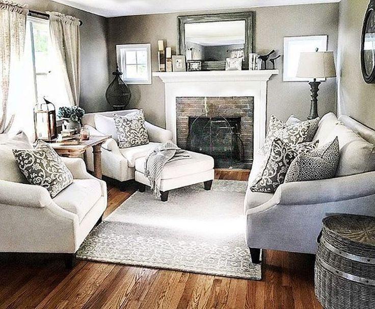 ideen für kleine wohnzimmer deko kamin   Single Schlafzimmer