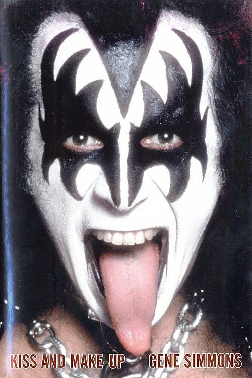 Gene Simmons Gene Simmons Gene Simmons Tongue Kiss Makeup