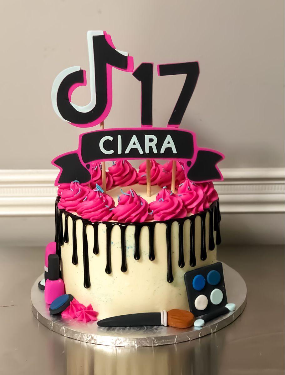 Cupcakes By Jenn Custom Cakes Fondant Cake Birthday Cake 14th Birthday Cakes Birthday Cakes For Teens Cakes For Teenagers
