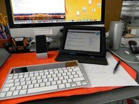 Logitech Wireless Solar Keyboard K760 – wechselt problemlos von Mac zu iPad und iPhone