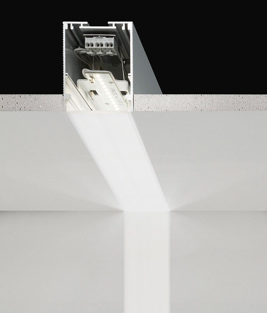 Lighting System In The Recessed Or Suspension Wall Ceiling Version  # Meuble Tv Nolita