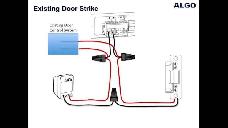 Electric Strike Wiring