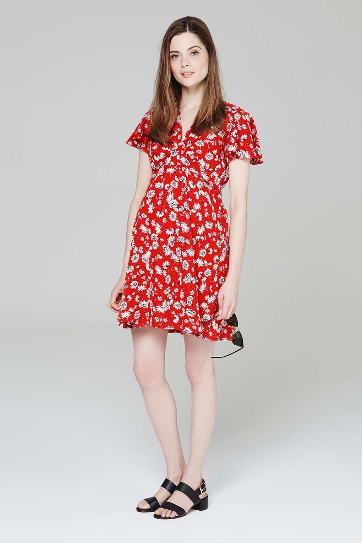 d40887bd587d0 MATERNITY Daisy Tea Dress - Topshop USA | Maternity | Dresses ...