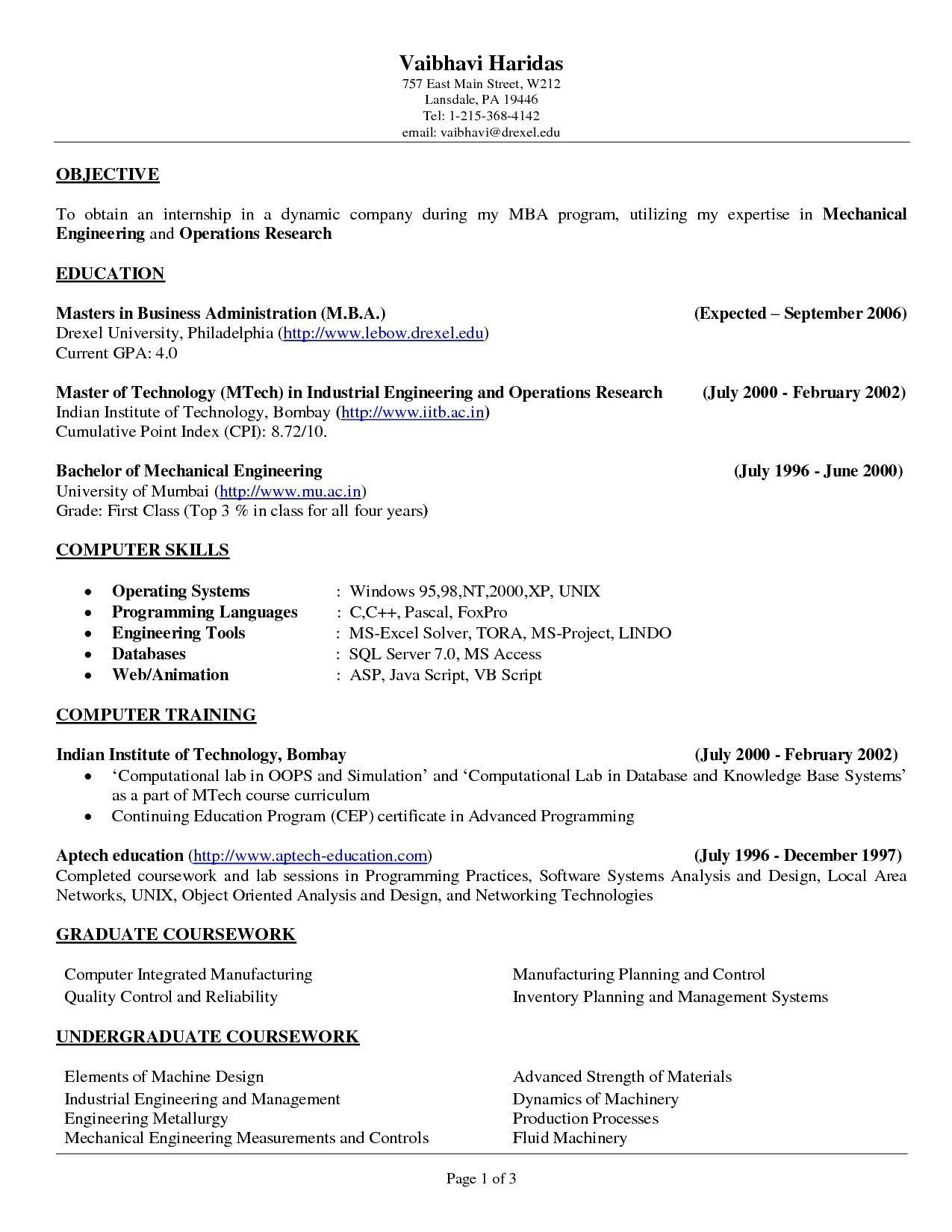 Pin On Resume Example 2020