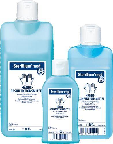 Bode Chemie Sterillium Med Ethanol Based Hand Disinfectant