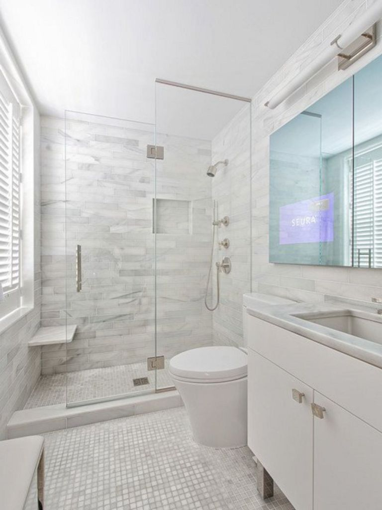 115 Extraordinary Small Bathroom Designs For Small Space 078 Small Bathroom Bathroom Design Small Bathroom Remodel Master