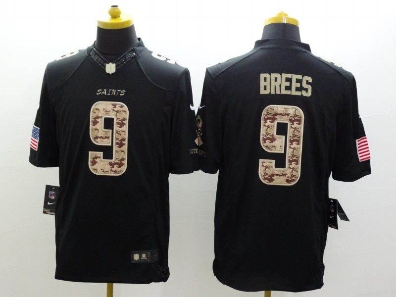b2623948957 Cheap Wholesale Mens New Orleans Saints  9 Drew Brees Nike Black Salute To Service  Jersey Size S-XXL stock.Contact US If need purchase.