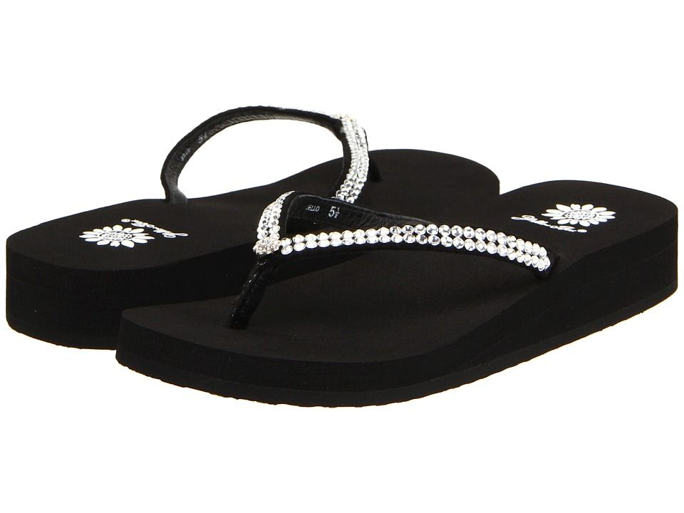 8ea12079255 Yellow Box Jello Women's Sandals Black | Products | Sandals, Shoes ...