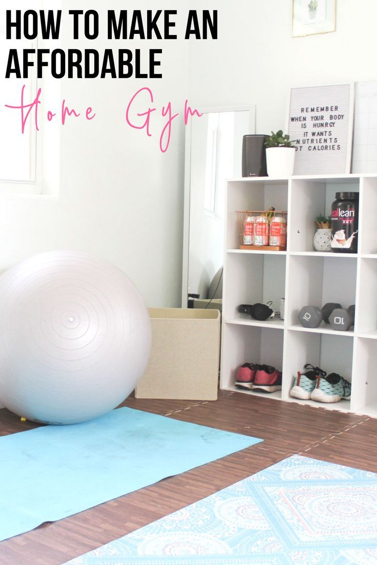 Photo of My Home Gym + Play Space On A Budget