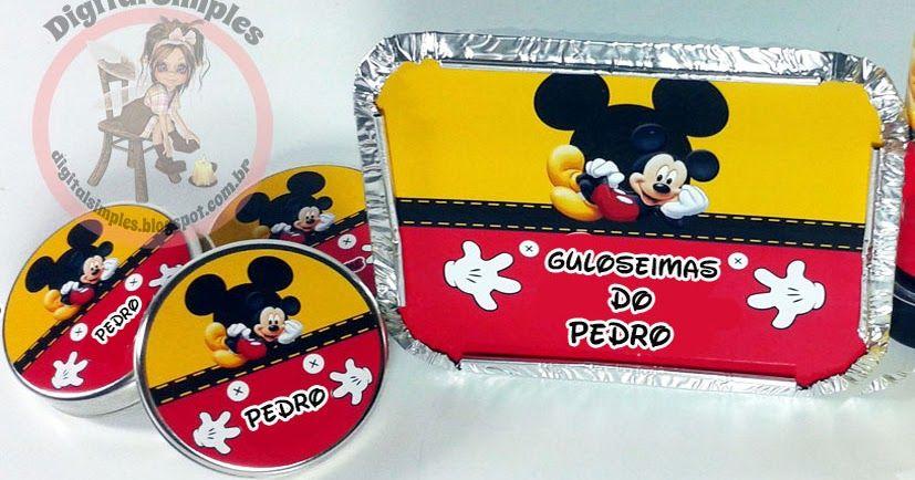 Kit de Festa do Mickey para imprimir