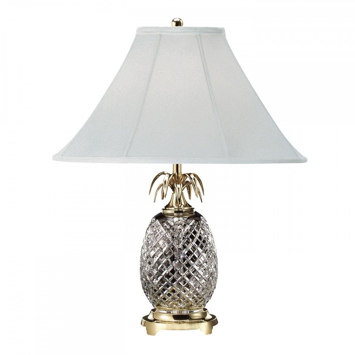 Hospitality 25in Table Lamp Lamp Waterford Lamp Crystal Table Lamps