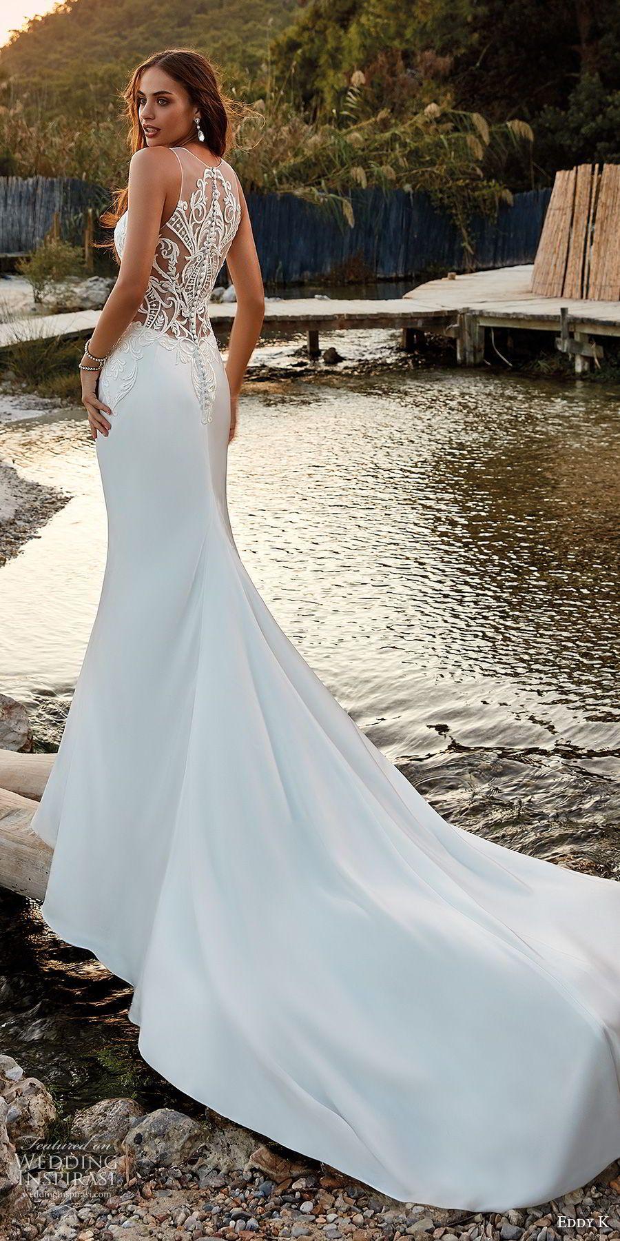 Eddy K. Dreams 2019 Wedding Dresses   Chapel train, Wedding dress ...