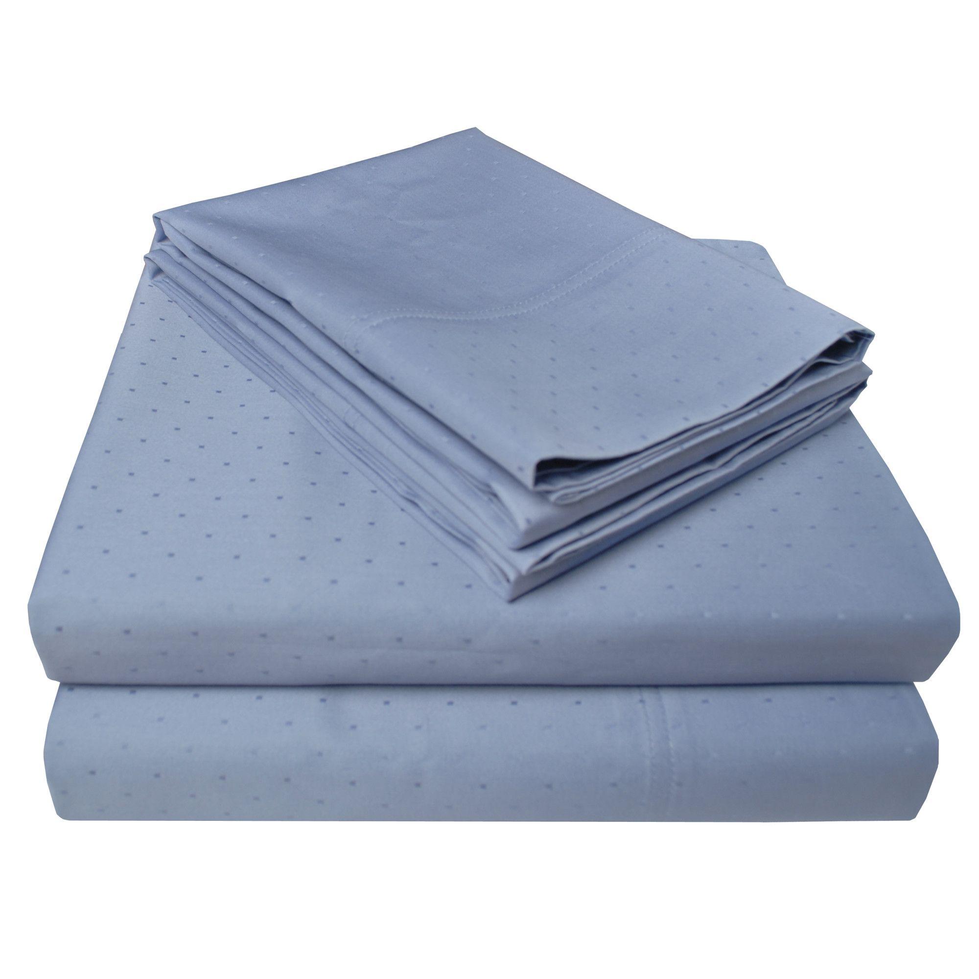 Dot 400 Thread Count Egyptian Cotton Sheet Set