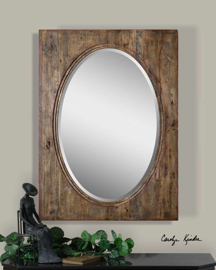 6fe02b9e6d88 oval rustic wall decor barnwood - - Yahoo Image Search Results. distressed wood  frames ...