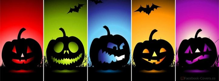 Halloween Lanterns Facebook Cover Images
