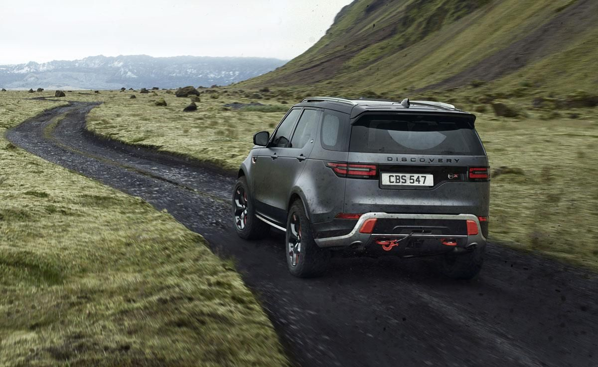 First Look Land Rover's Special Vehicle Operations team