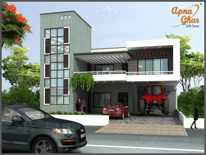 Best 5 Bedrooms Duplex House Design In 280M2 10M X 28M Click 400 x 300