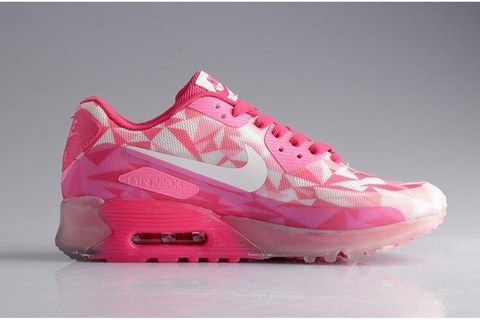 the latest 8ff42 23b9d Cheap Nike Air Max 90 Ice Womens Bright Magenta Think Pink Glacier White  631748 160