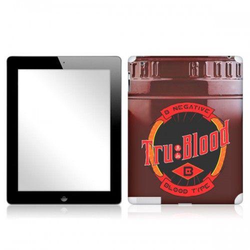 True Blood Beverage Logo Tablet & Netbook Skins   Shows   True Blood   HBO Shop - View All