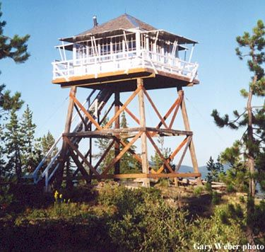 Arid peak lookout tower 3 mile hike in with everything for Lookout tower plans