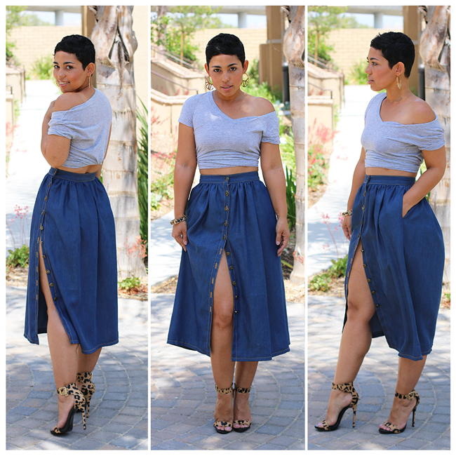 NEW! The Perfect Denim Skirt Step by Step VIDEO Tutorial!