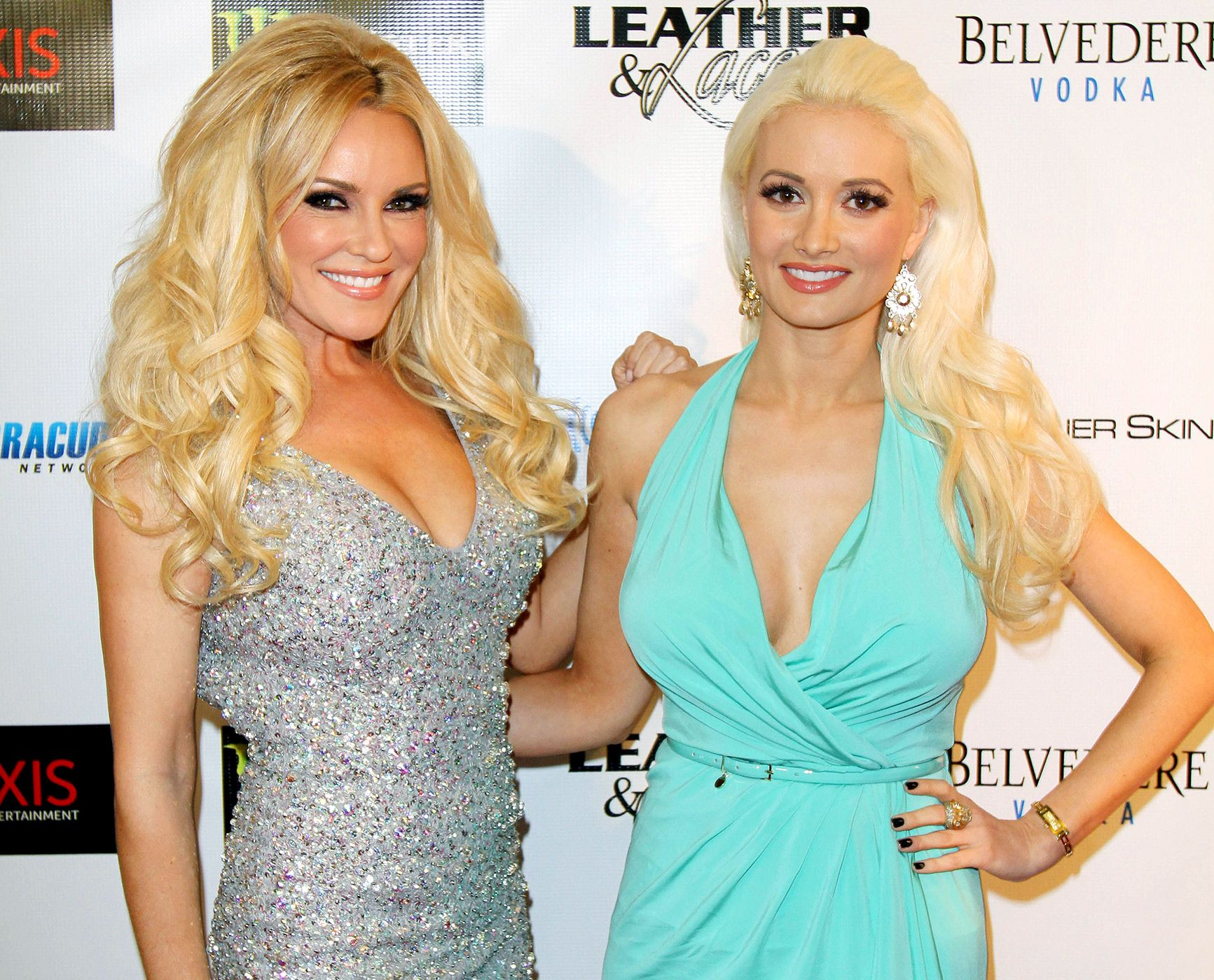 Holly Madison congratulated former Girls Next Door costar Brid Marquardt on her engagement via Twitter on