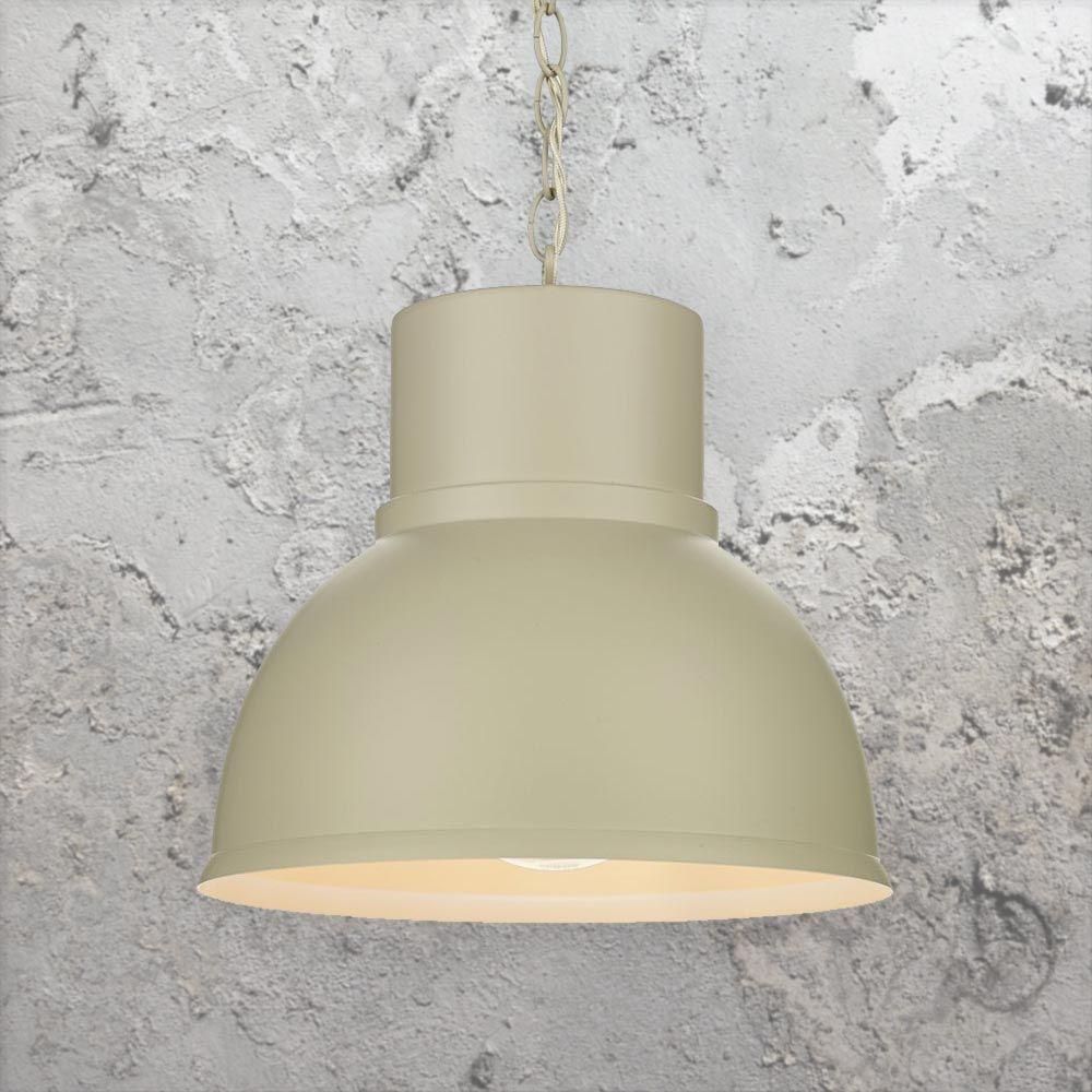 Matte Metal Factory Lamp Cl 36762 Pendant Light Fitting Lighting Uk Vintage Edison Lamp