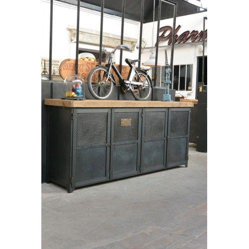 Fabrication meuble métallique industriel LOFT Pinterest Lofts