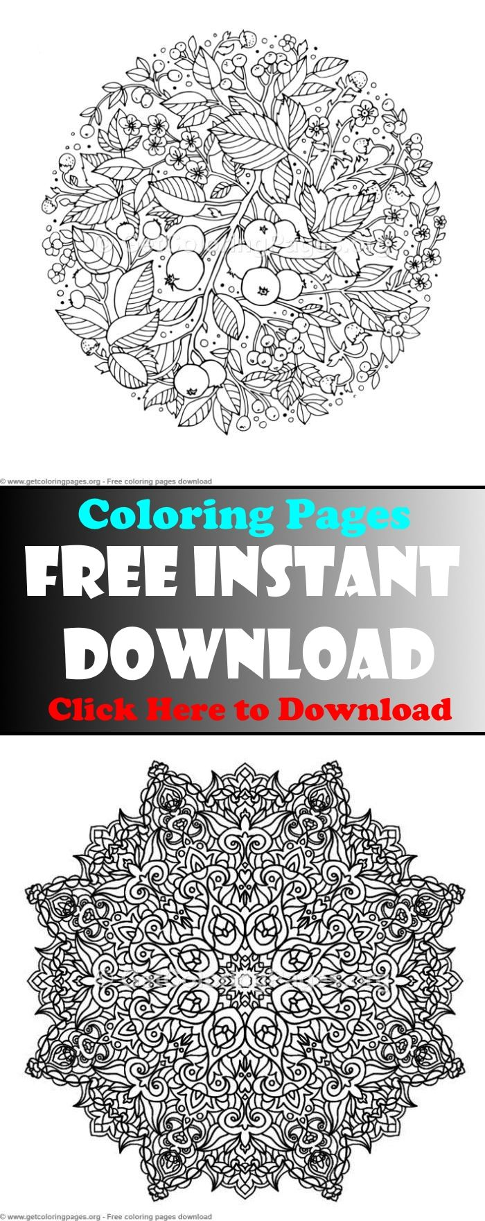 Mandalas Coloring Book Pdf Free Adult Coloring Pages Coloring