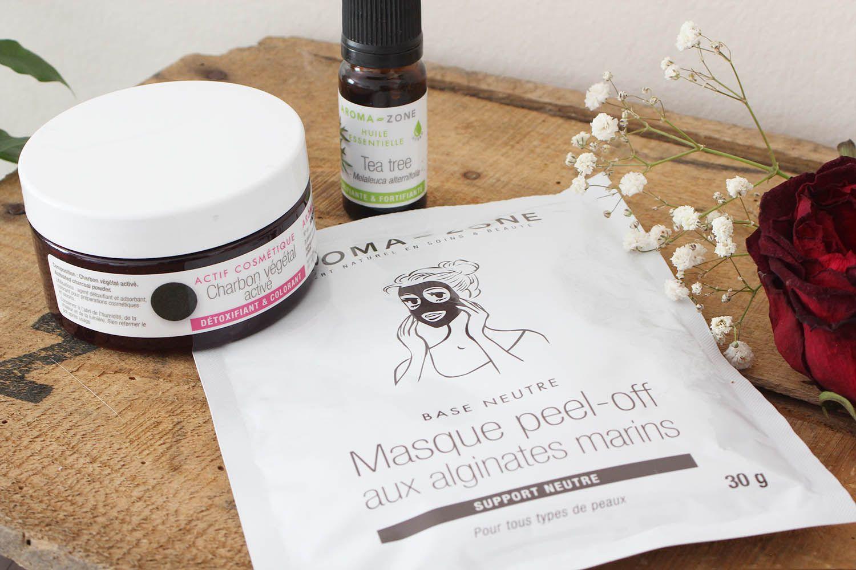 DIY : Le Masque Peel-Off au charbon actif et l'huile essentielle de Tea Tree | Masque peel off ...